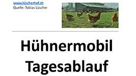 Das Hühnermobil im Tagesablauf (pdf)
